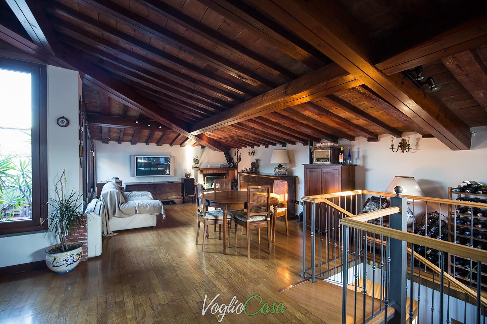 Porta al Prato – 7 vani su due livelli con terrazza a tasca e posto ...