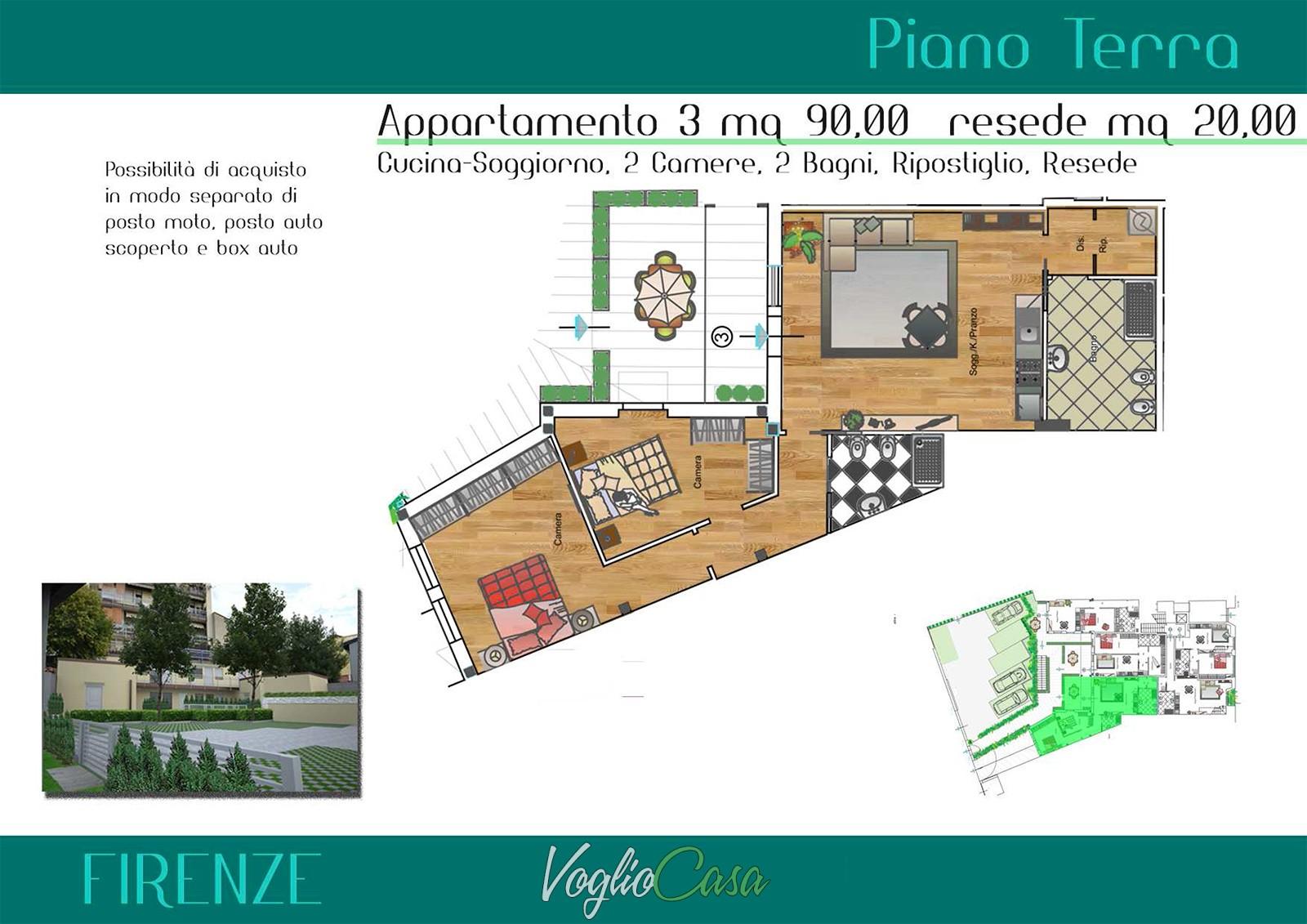 Porta al Prato – Nuovi appartamenti di varie metrature